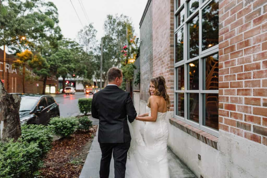Grounds of Alexandria stunning intimate wedding captured by james white photography