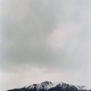 Stunning Kodak Portra 400 35mm film shot of New Zealand Mountains during a storm